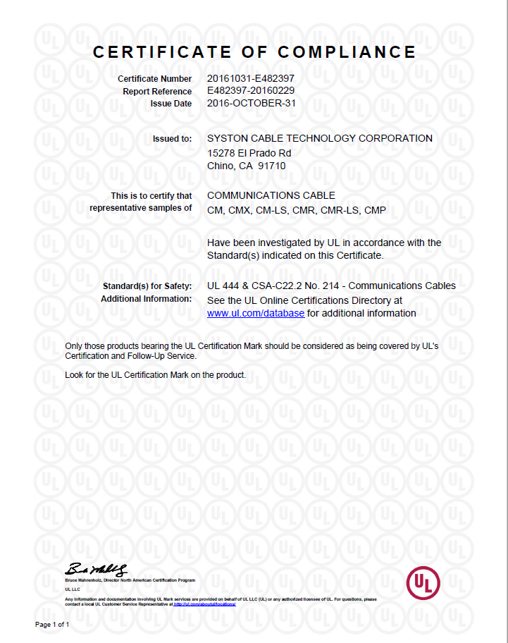 4 E340802-20150306-CertificateofCompliance-page-001