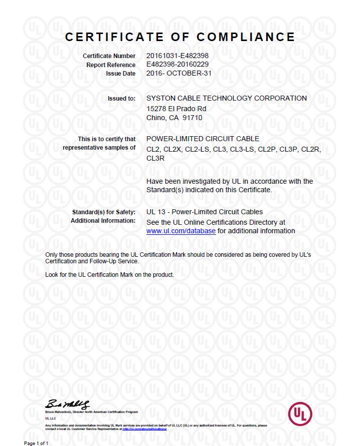 2 E244535-20150302-CertificateofCompliance-page-001